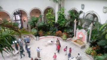 Vizcaya courtyard.
